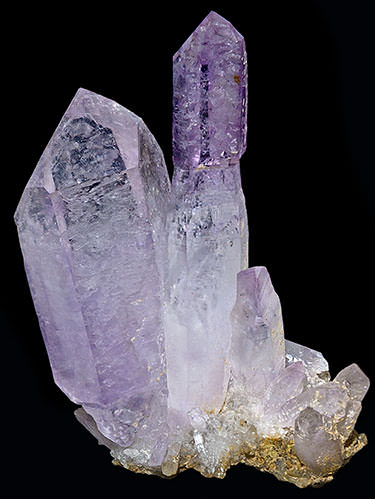 Light violet amethyst scepter