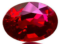 Oval cut ruby gemstone is ruby a sapphire