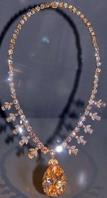The 67.89 carat champagne-colored Victoria-Transvaal Diamond