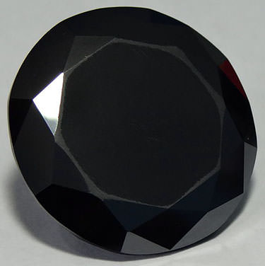 The shaan-e-kolkata is one of the largest cut black diamonds in the world