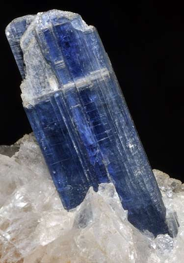 Blue kyanite crystal from Brazil