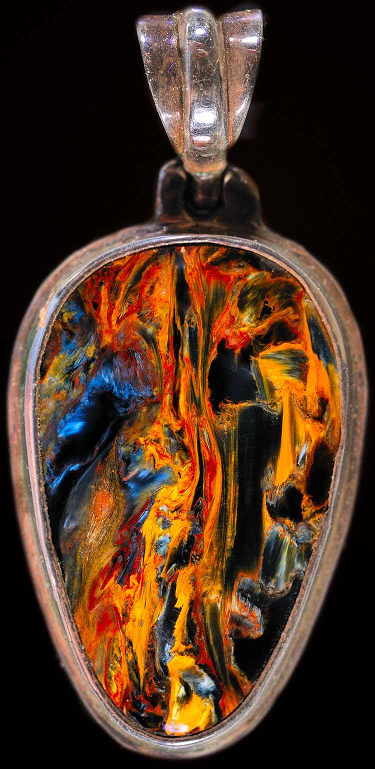 Pietersite Swirling Gemstone Of Storms