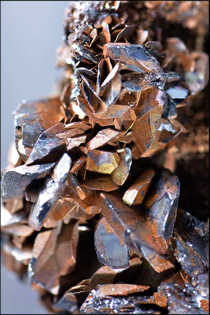 Rust-stained hematite from Milianah, Africa