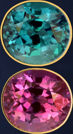 Alexandrite color change