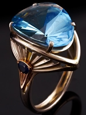 London blue topaz ring sell jewelry