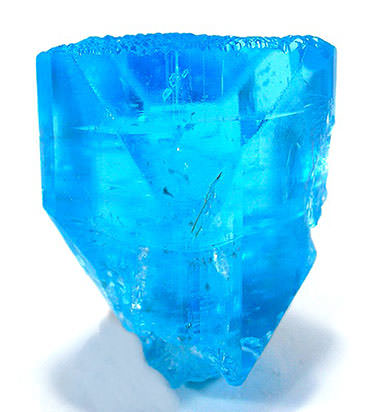 blue topaz crystal irradiation gemstone treatments