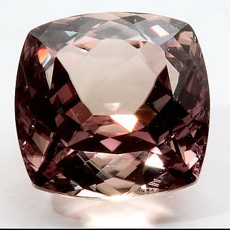 cushion cut zultanite gemstone incandescent lighting