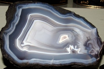 Chalcedony (SiO2) from the National Museum in Prague