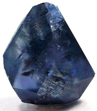 Loose benitoite crystal