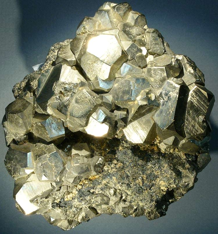 Pyrite from Elba