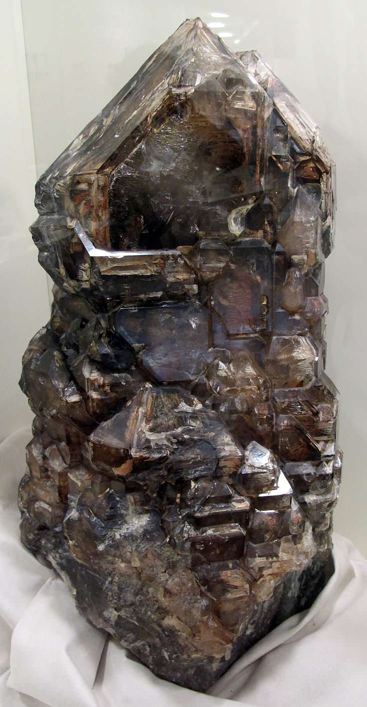 Smoky quartz from the Museo di storia naturale in Florence