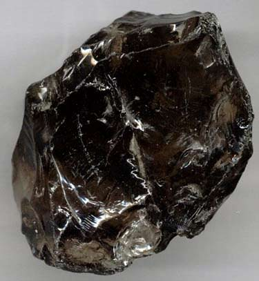 Some smoky quartz is so dark it looks black. This is often called 'morion'