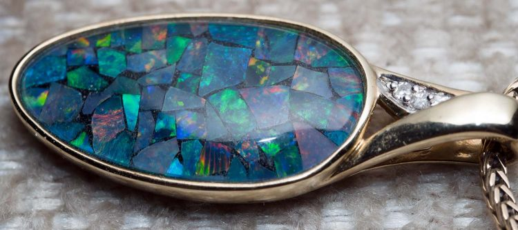 Opal necklace - guide to jewelry care