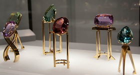 Selection of birthstones